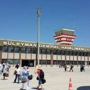 Süleymen Demirel Havalimanı uçak bileti