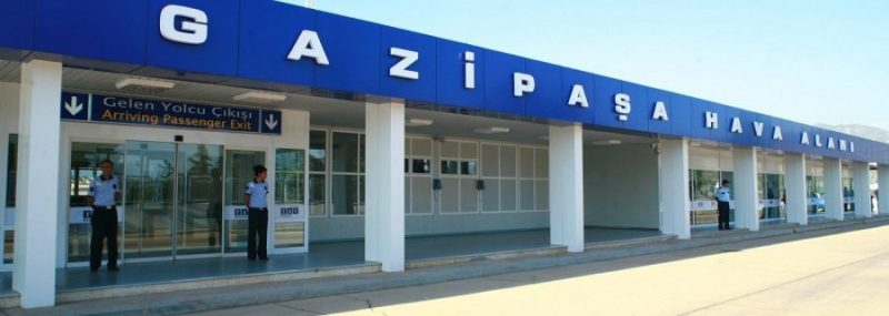 Antalya Gazipaþa Havaalanı