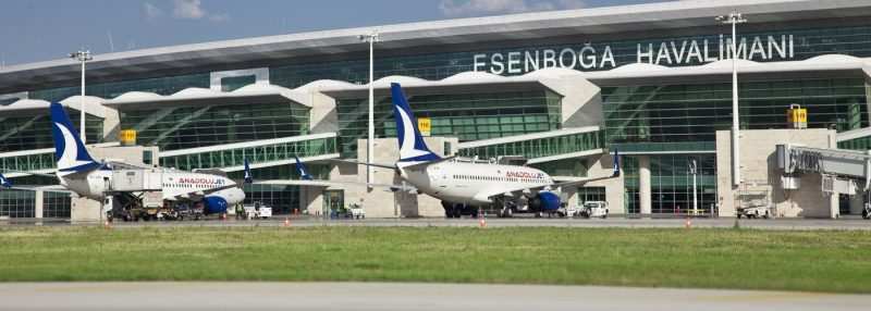 Ankara Esenboğa Havalimanı uçak bileti